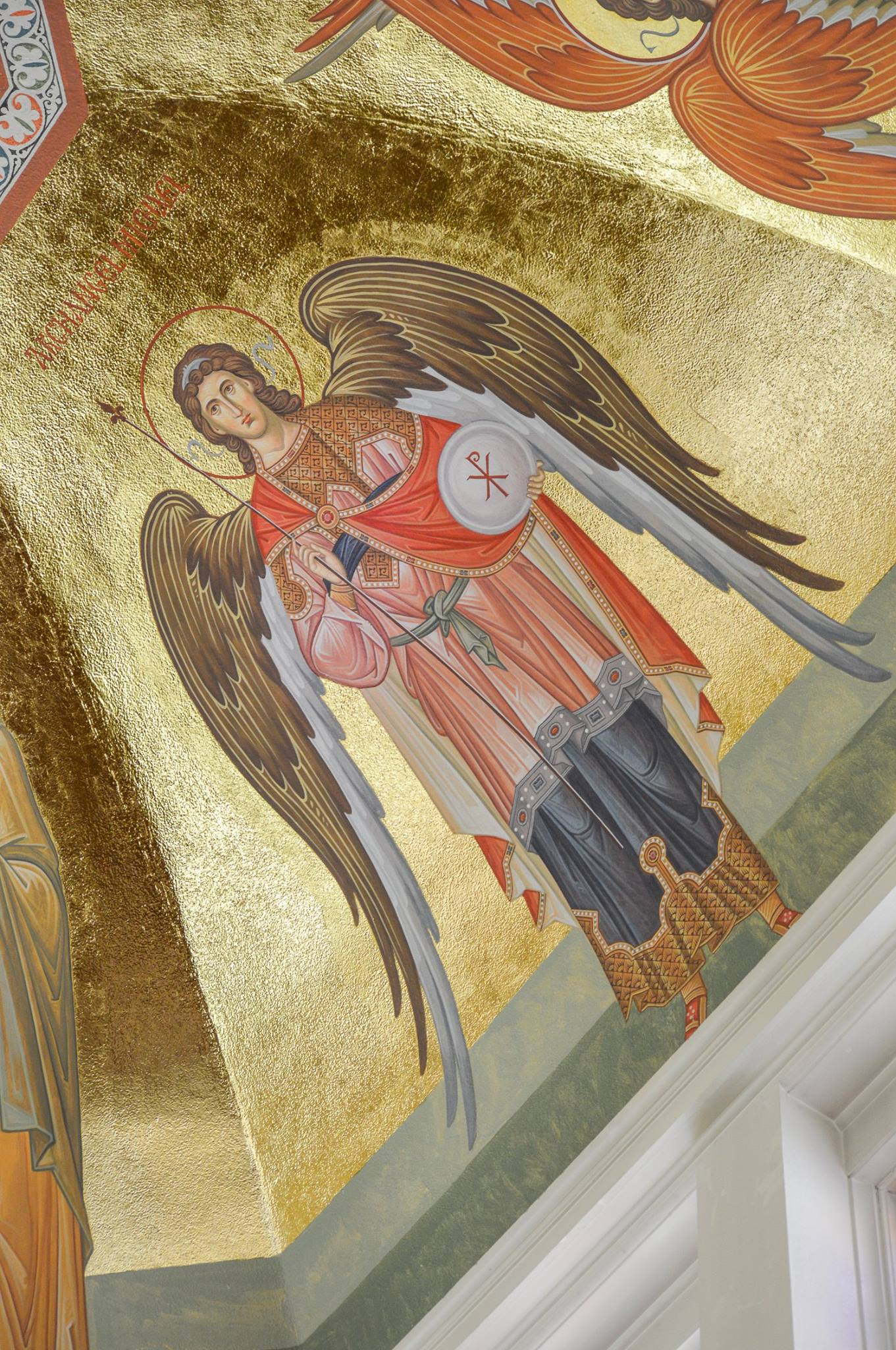 Icons of Christ the High Priest, His Mother, the Forerunner, and Bodiless Powers