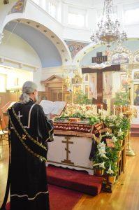 Protodeacon Brendan on Holy Saturday 2015